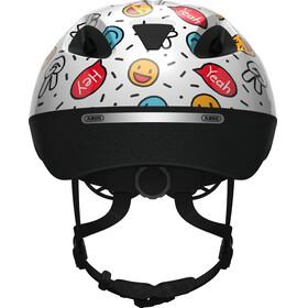ABUS Smooty 2.0 Helmet Kids white smiley
